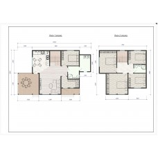 Проект каркасного дома «Дыбенко-123»
