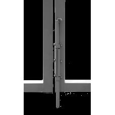 Ворота Эконом New Lock 2,0х3,45 RAL 7040