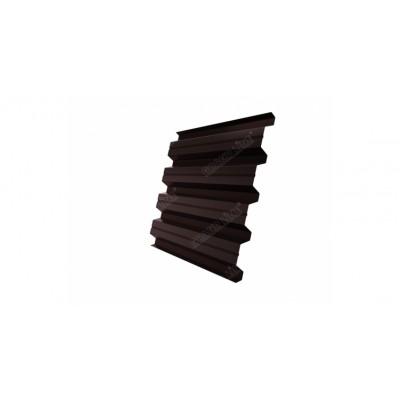 Профнастил H60A 0,5 Atlas RAL 8017 шоколад