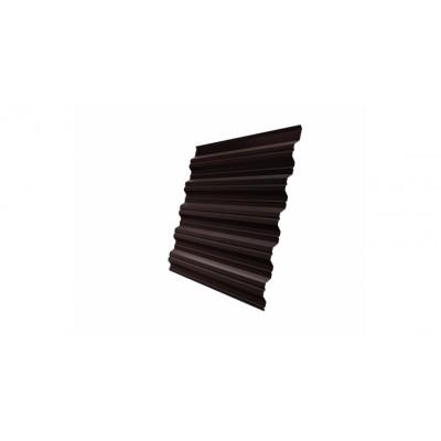 Профнастил HC35A 0,45 PE RAL 8017 шоколад