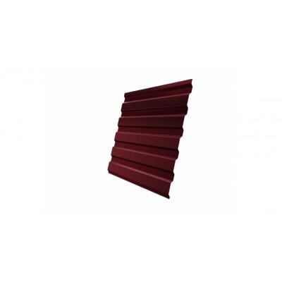 Профнастил С20А 0,45 PE RAL 3005 красное вино