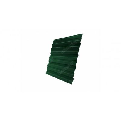 Профнастил С10В 0,45 PE-Double RAL 6005 зеленый мох