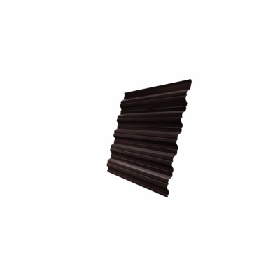 Профнастил HC35A 0,45 PE-Double RAL 8017 шоколад
