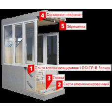LOGICPIR Балкон L 40 мм