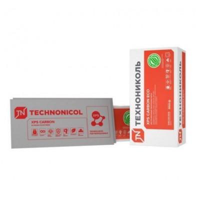 Утеплитель - экструзионный пенополистирол (XPS) CARBON ECO ТЕХНОНИКОЛЬ 100 мм