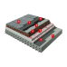 Плоская кровля с использованием ПВХ мембран/Битумных материалов