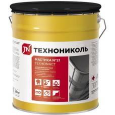 Мастика кровельная ТЕХНОНИКОЛЬ №21 Техномаст ведро 20 кг