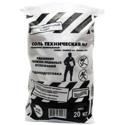 Противогололедное средство ROCKMELT Соль Техническая