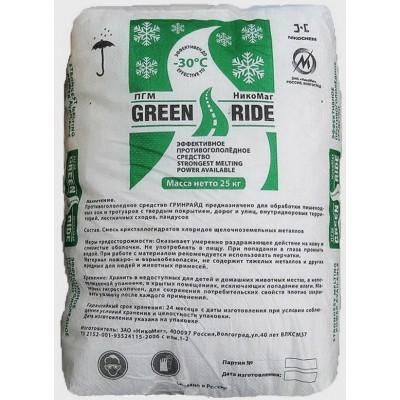 Противогололедный материал GREENRIDE (ГРИНРАЙД) (до -30 С)