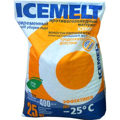 Противогололедный реагент ICEMELT (АЙСМЕЛТ)