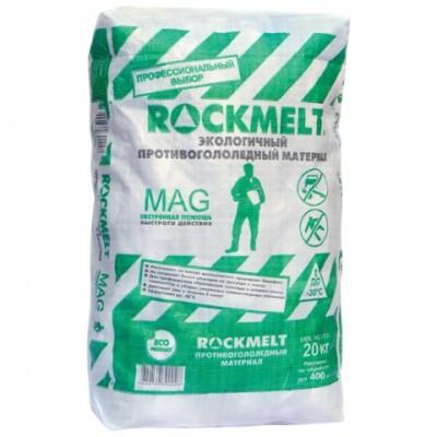 Противогололедный реагент ROCKMELT MAG